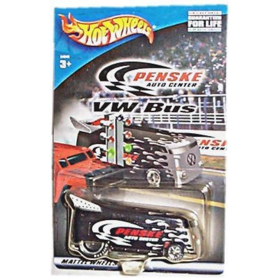 【送料無料】ミニカー VW DRAG BUS Hot Wheels - Penske Auto Center Series - 黒 VW Bus - Limited Edition 1:64 Scale Collectible Die Cast Metal Toy