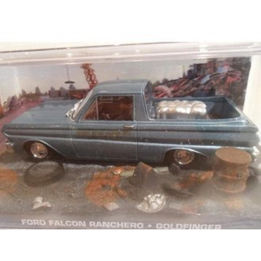 【送料無料】ミニカー Ford Falcon Ranchero Diecast Model Car from James Bond ゴールドfinger 輸入品