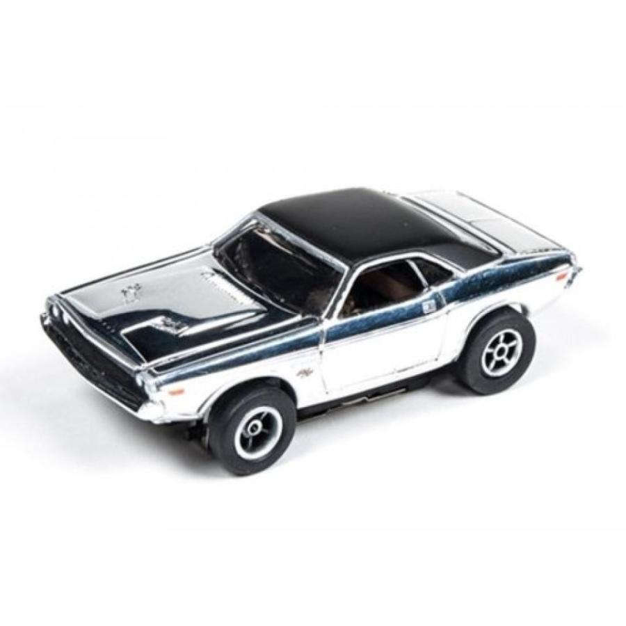 【送料無料】ミニカー Auto World 272 1970 Dodge Challenger Chrome Xtraction Ultra G HO Slot Car 輸入品