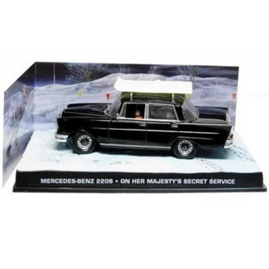 【送料無料】ミニカー Mercedes Benz Sedan Diecast Model Car from James Bond On Her Majesty`s Secret Service 輸入品