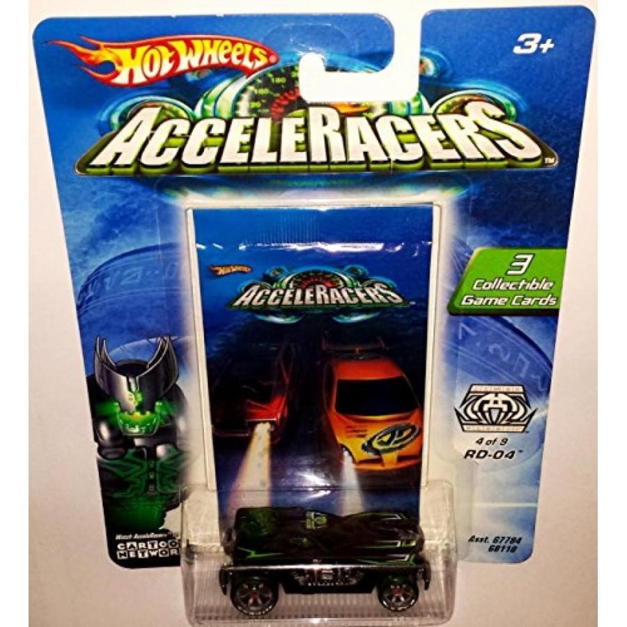 【送料無料】ミニカー RD-04 Die-Cast Car / Hot Wheels AcceleRacers / RACING DRONES #4 of 9 / 2004 輸入品