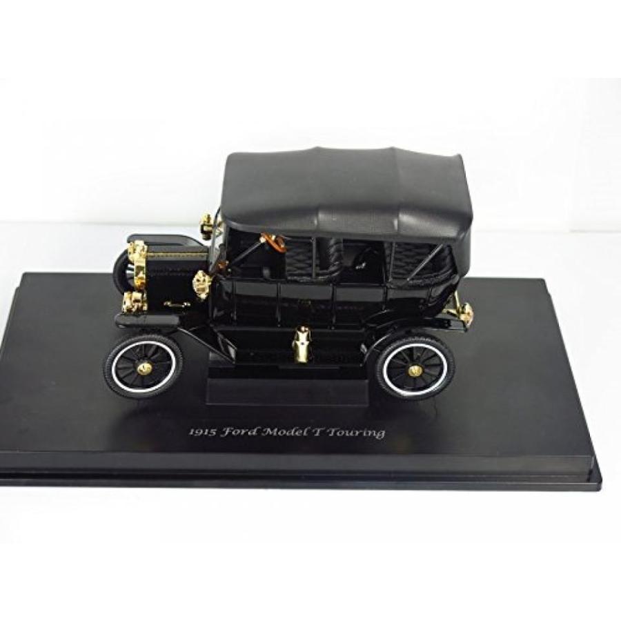 フォード ミニカー 1915 Ford Model T Touring Soft Top 黒 1/18 by Motorcity Classics 88131 輸入品