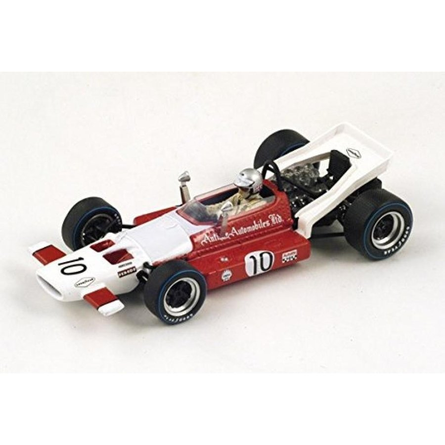 【送料無料】ミニカー 1969 McLaren M7B, No.10, 5th French GP 1969 - Vic Elford Model Car 1:43 Scale by Spark 輸入品