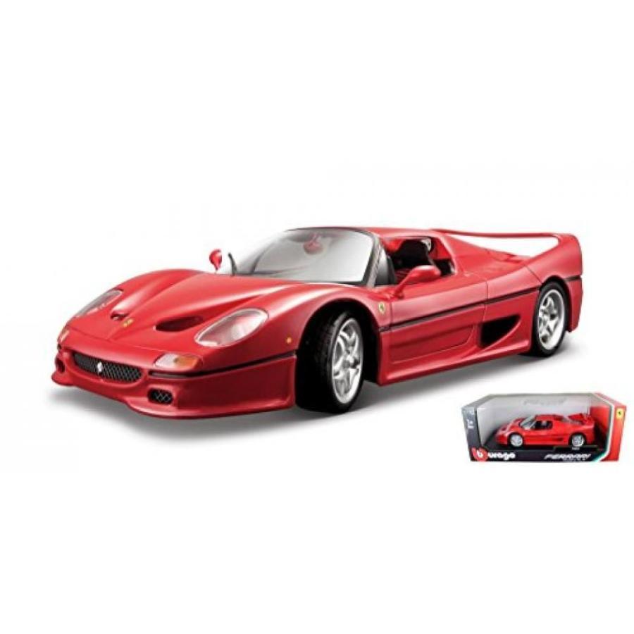フェラーリ ミニカー Ferrari F50 赤 1/18 by Bburago 16004 輸入品