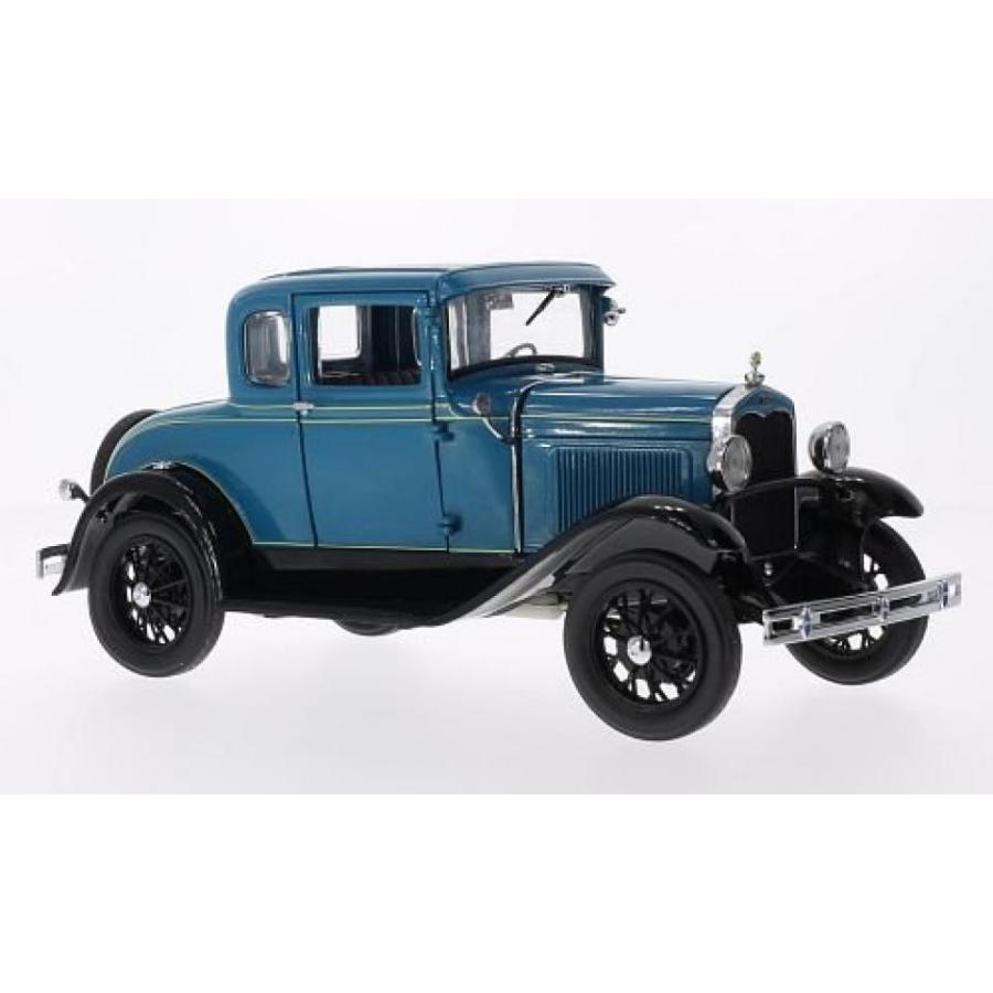 フォード ミニカー Ford A-Model Coupe, 青/黒, 1931, Model Car, Ready-made, Sun star 1:18 輸入品