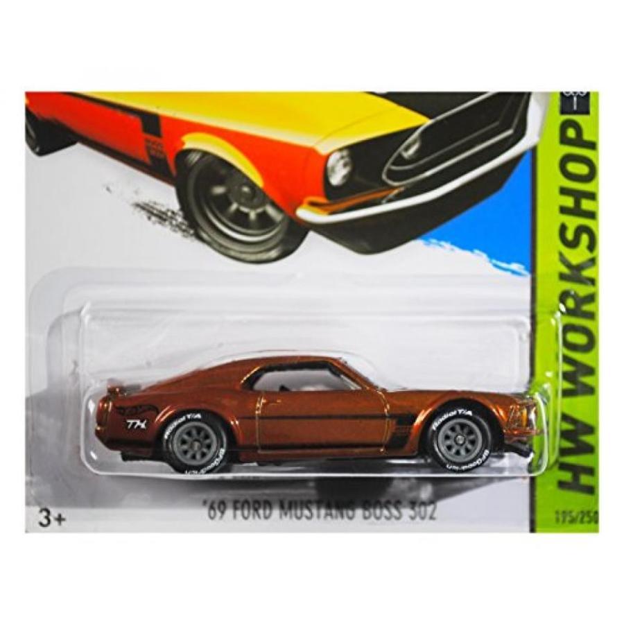 【送料無料】ミニカー 2015 Hot Wheels Super Treasure Hunt Hw Workshop - '69 Ford Mustang Boss 302 輸入品