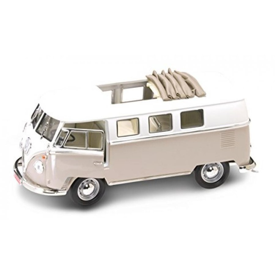 フォルクスワーゲン ミニカー 1962 Volkswagen Microbus オレンジ With Retractable Roof 1/18 by Road Signature 92327 輸入品