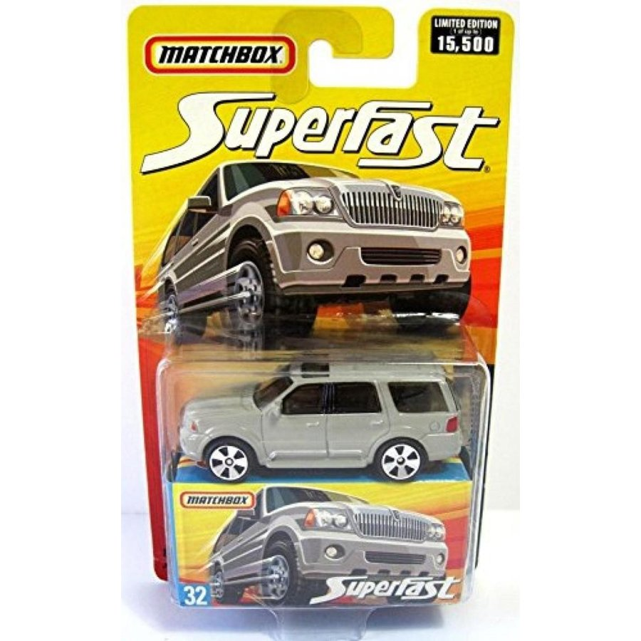 ミニカー・モデルカー Matchbox Superfast #32 Lincoln Navigator by Matchbox 輸入品