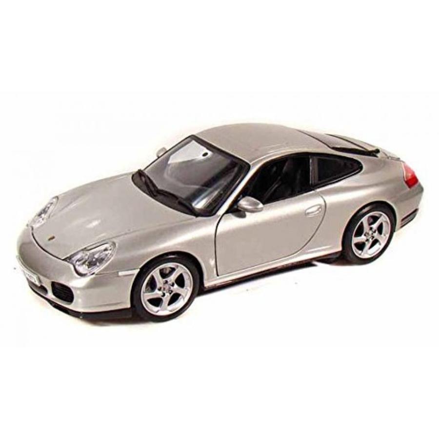 【送料無料】ミニカー Porsche 911 Carrera 4S, 銀 - Maisto 31628 - 1/18 Scale Diecast Model Toy Car 輸入品