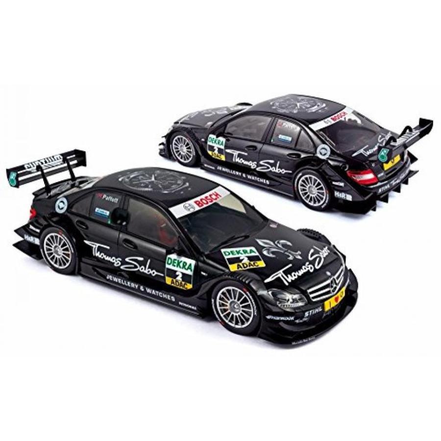 【送料無料】ミニカー 2011 Mercedes-Benz C-Class DTM Race Car #2 Gary Paffett - Norev 183584 - 1/18 Scale Diecast Model Toy Car 輸入品