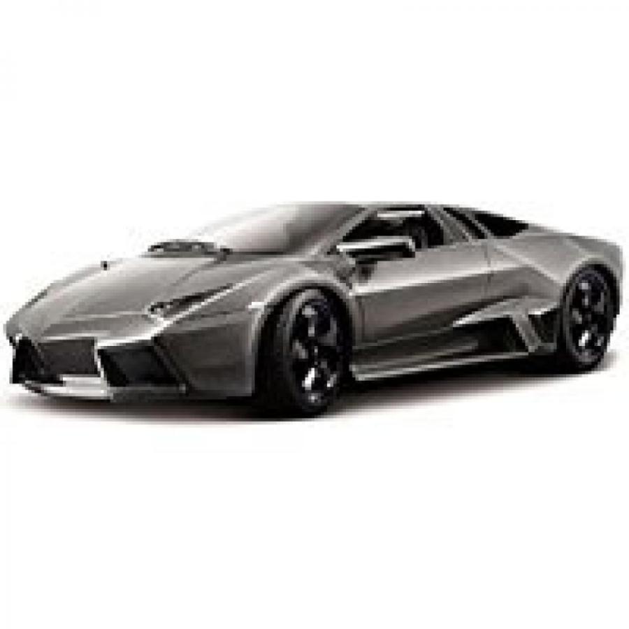 【送料無料】ミニカー Lamborghini Reventon, Gray - Bburago 21041 - 1/24 scale Diecast Model Toy Car 輸入品