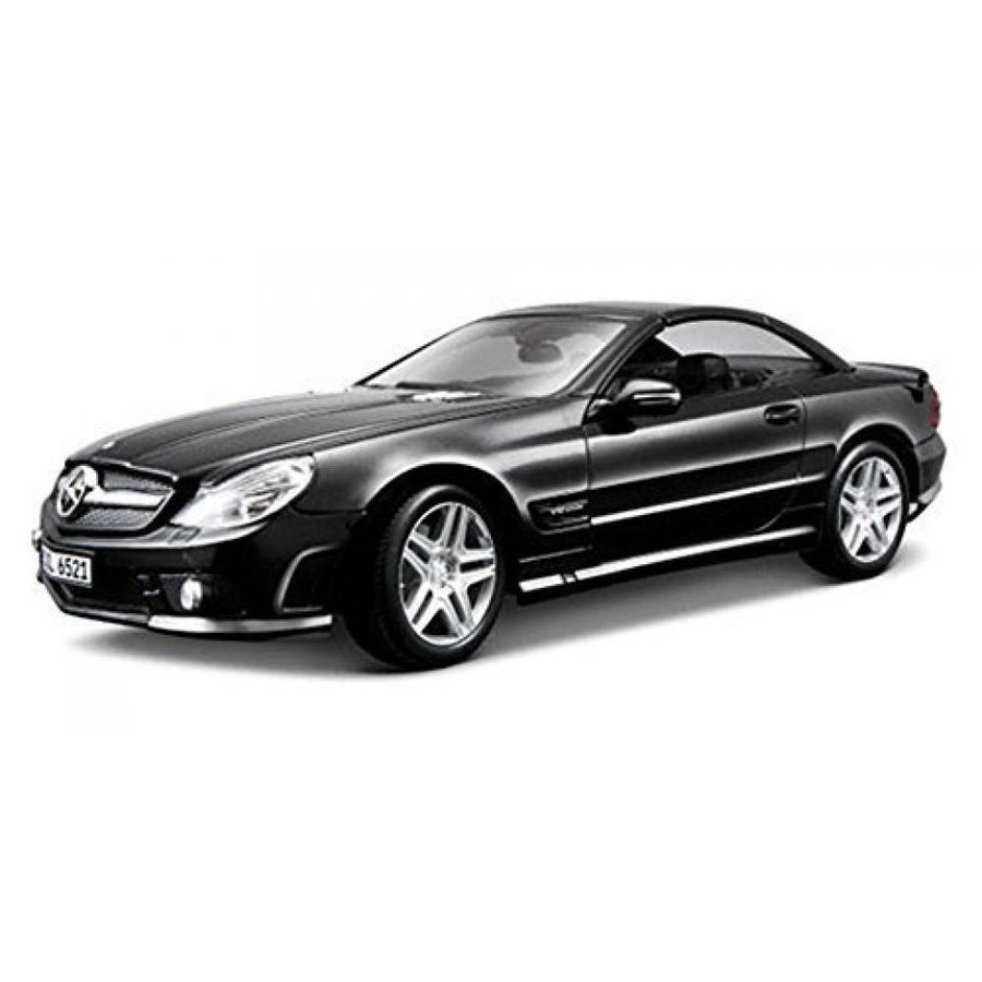 【送料無料】ミニカー Mercedes Benz SL65 AMG, 黒 - Maisto Premiere 36193 - 1/18 Scale Diecast Model Toy Car 輸入品