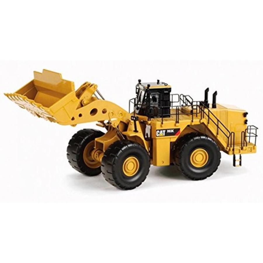 【送料無料】ミニカー Caterpillar 993K Wheel Loader, 黄 - Norscot 55257 - 1/50 Scale Diecast Model Toy Car 輸入品