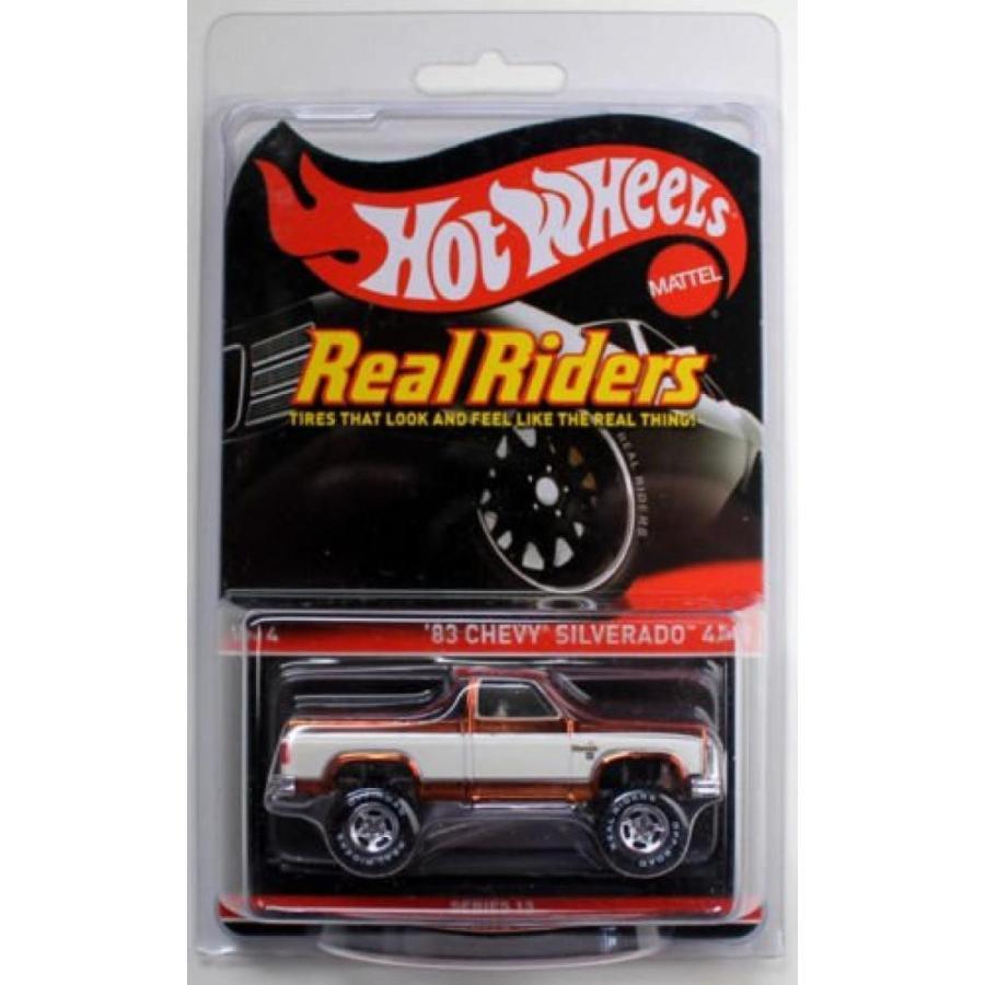 【送料無料】ミニカー Hot Wheels Series 13 RLC '83 銀ado 4X4 Only 4000 made 輸入品