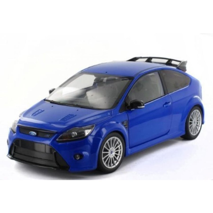 フォード ミニカー Ford Focus RS, met.-青 , 2010, Model Car, Ready-made, Minichamps 1:18 by Minichamps 輸入品