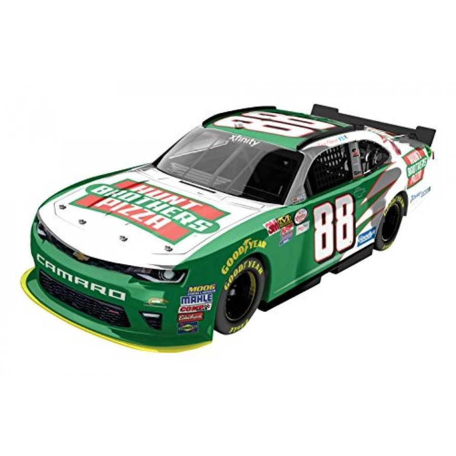 フォード ミニカー Lionel Racing Kevin Harvick #88 Hunts Brother's Pizza Xfinity 2016 Chevrolet Camaro NASCAR Diecast Car (1:24 Scale), Chrome 輸入品