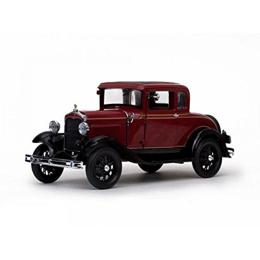 フォード ミニカー 1931 Ford Model A Coupe Rubelite 赤 1/18 by Sunstar 6131 輸入品