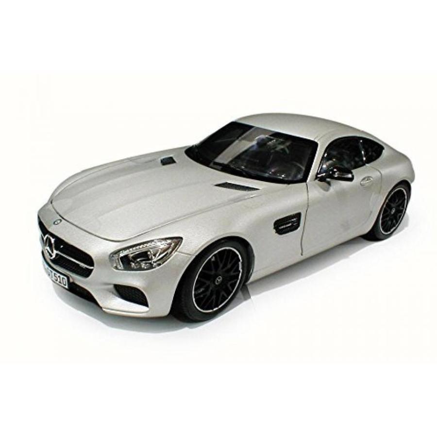 【送料無料】ミニカー 2015 Mercedes-Benz AMG GT, 銀 - Norev 183495 - 1/18 Scale Diecast Model Toy Car 輸入品