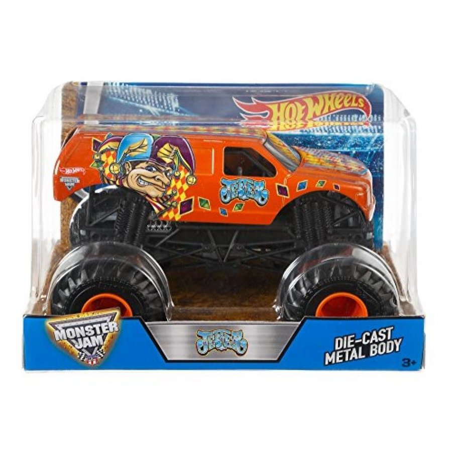 【送料無料】ミニカー Hot Wheels Monster Jam Jester Truck 輸入品