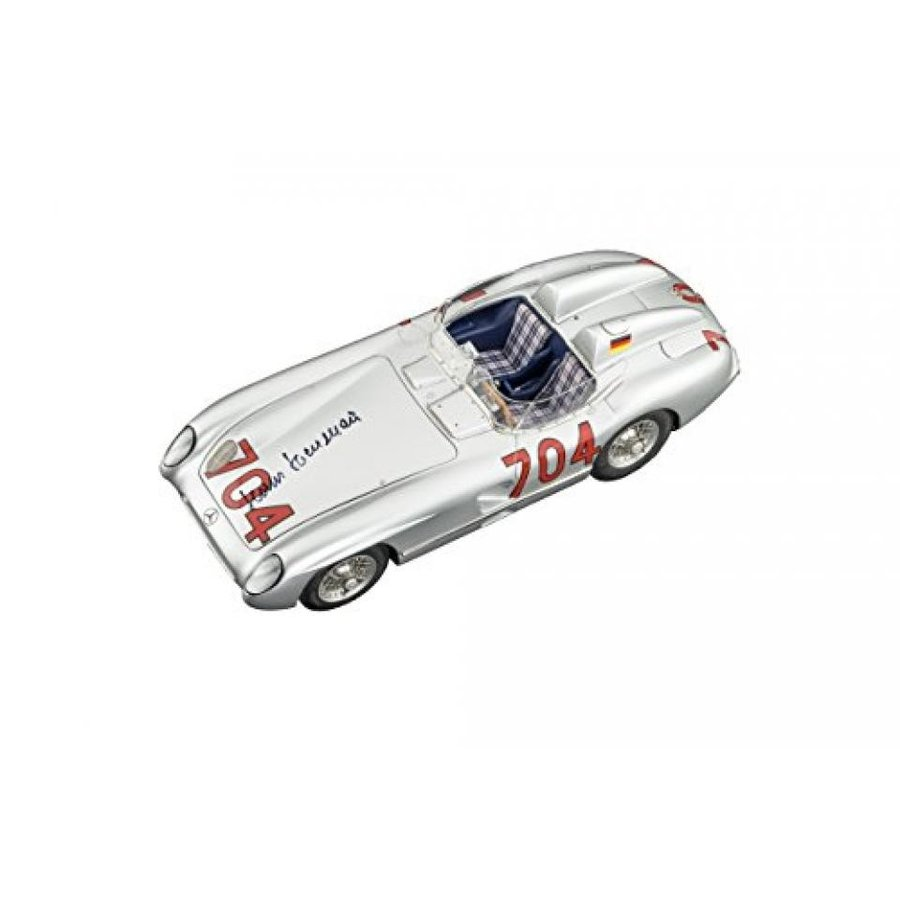 メルセデスベンツ ミニカー CMC-Classic Model Cars USA Mercedes 300SLR 1955 Mille Miglia #704 Hermann Signature Vehicle 輸入品