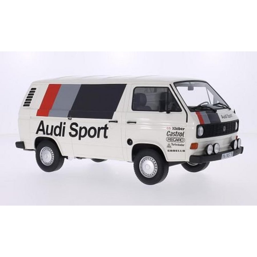 アウディ ミニカー VW T3 box wagon, Audi sport, 1980, Model Car, Ready-made, Premium ClassiXXs 1:18 輸入品