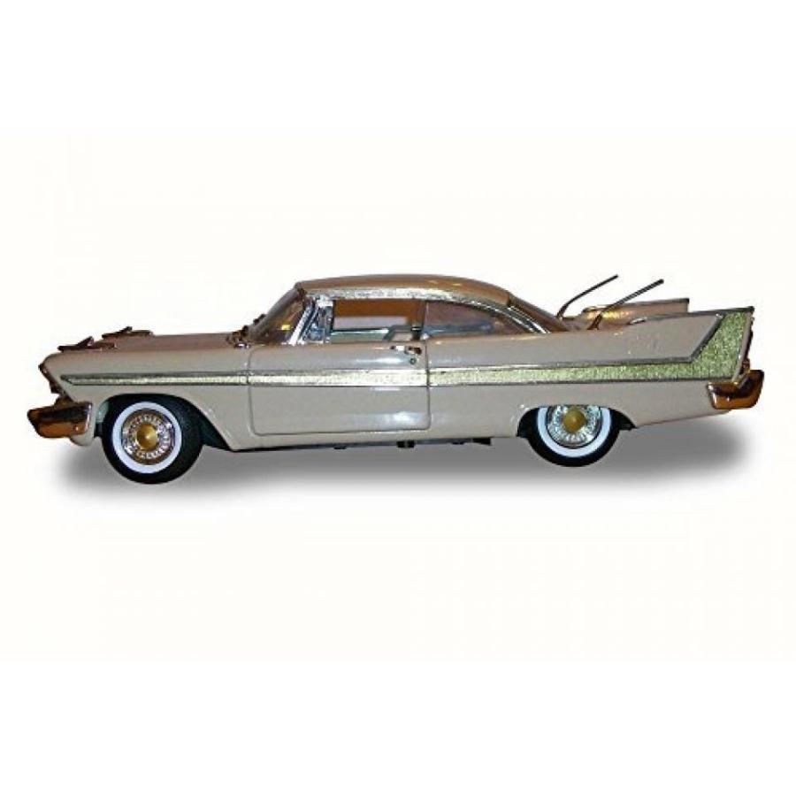 【送料無料】ミニカー 1958 Plymouth Fury, Beige - Motor Max 73115 - 1/18 Scale Diecast Model Toy Car 輸入品