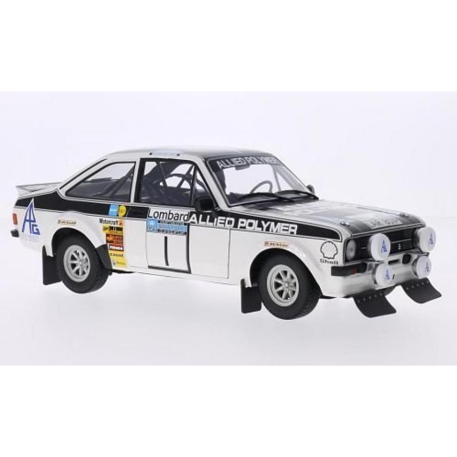 フォード ミニカー Ford Escort MKII RS 1800, No.1, Allied Polymer, Rallye WM, RAC Rallye, 1975, Model Car, Ready-made, Minichamps 1:18 by Minichamps
