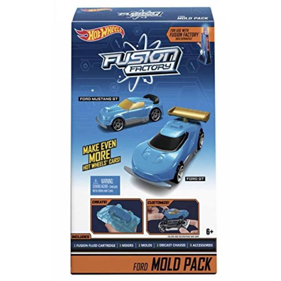 【送料無料】ミニカー Hot Wheels Fusion Factory Ford Mold Pack 輸入品
