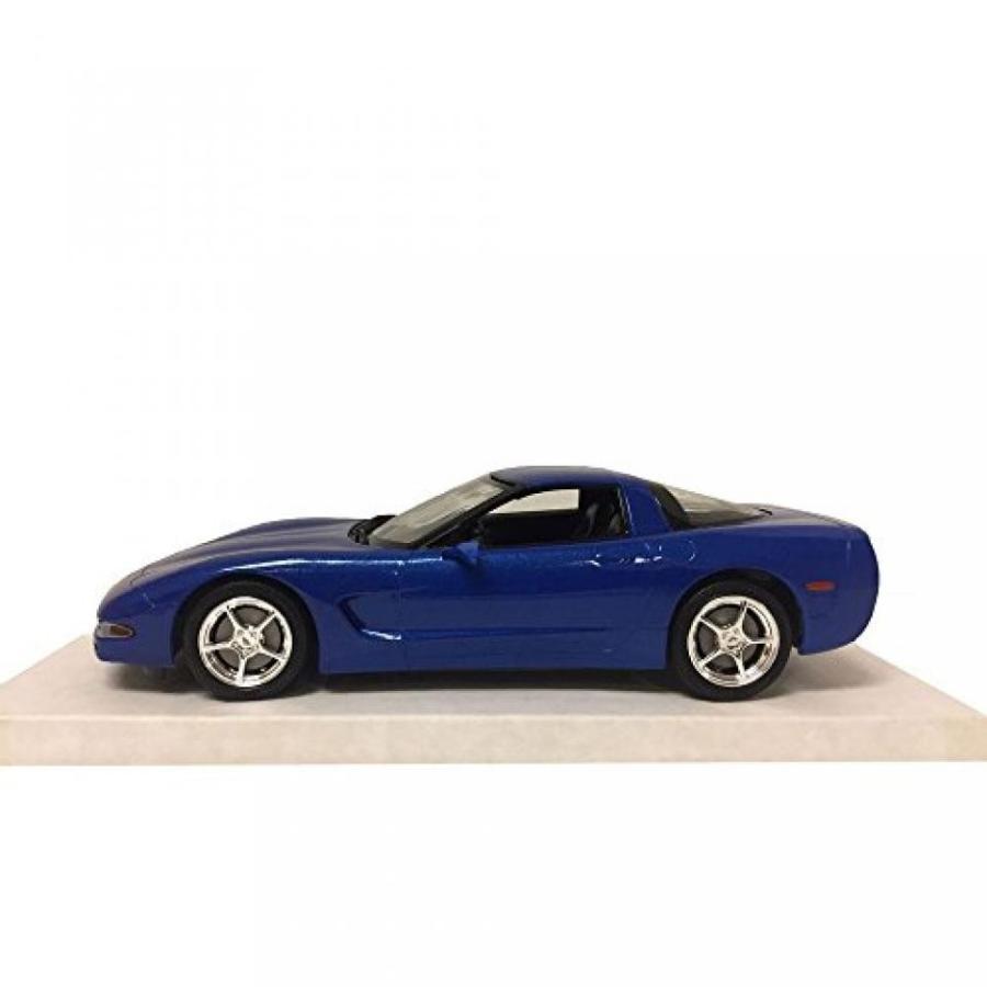 【送料無料】ミニカー Revell 85-0946 2003 Corvette Coupe Electron 青 Promo Cars Model 1:25 Scale Plastic Replica 輸入品