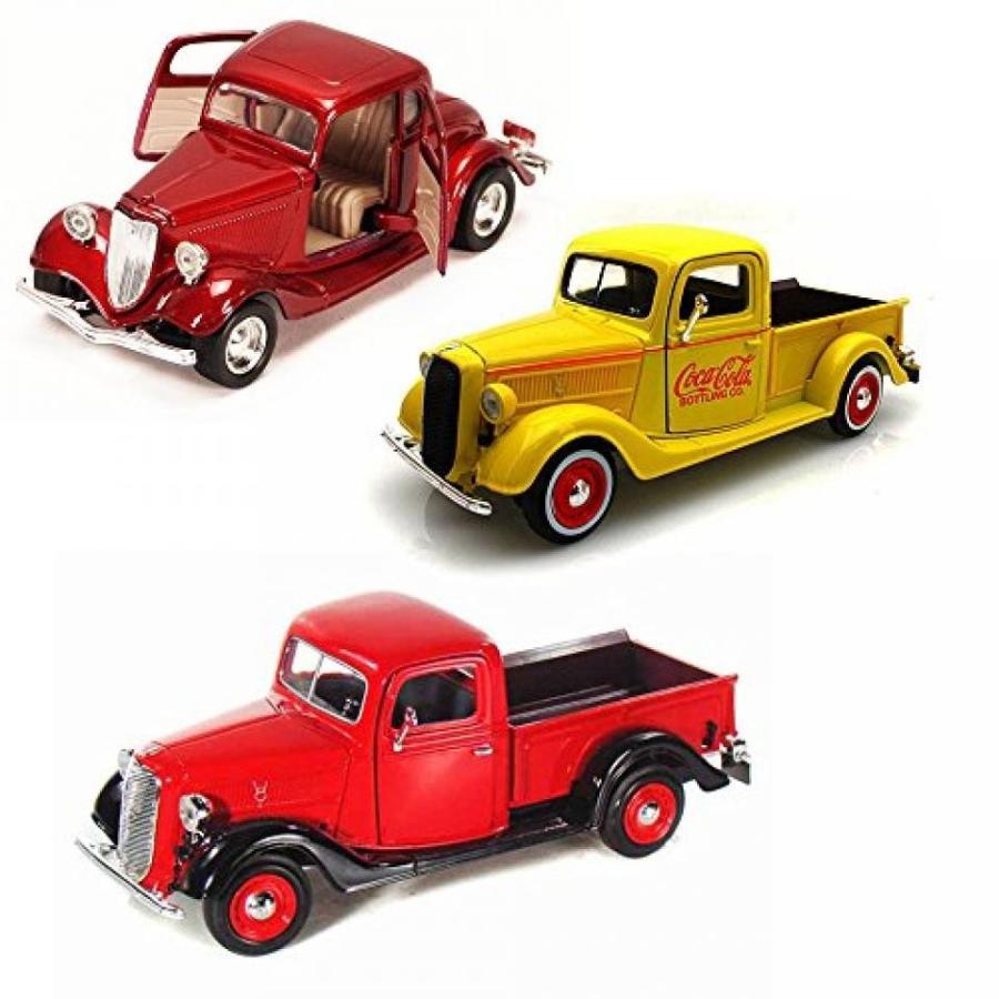 【送料無料】ミニカー Best of 1930s Diecast Cars - Set 4 - Set of Three 1/24 Scale Diecast Model Cars 輸入品