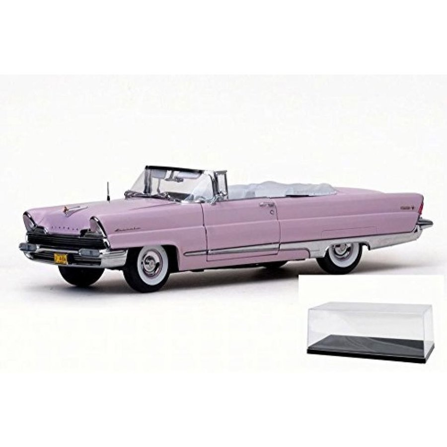 【送料無料】ミニカー Diecast Car & Accessory Package - 1956 Lincoln Premiere Open Convertible, Amethyst - Sun Star 4656 - 1/18 Scale Diecast Model