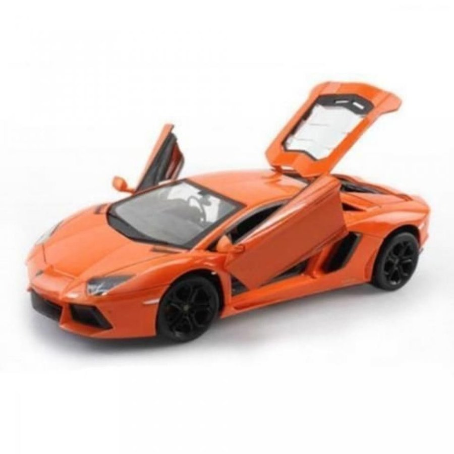 【送料無料】ミニカー 1:24 W/B LAMBORGHINI AVENTADOR LP700-4 DIECAST CAR MODEL 24033OR BY WELLY 輸入品