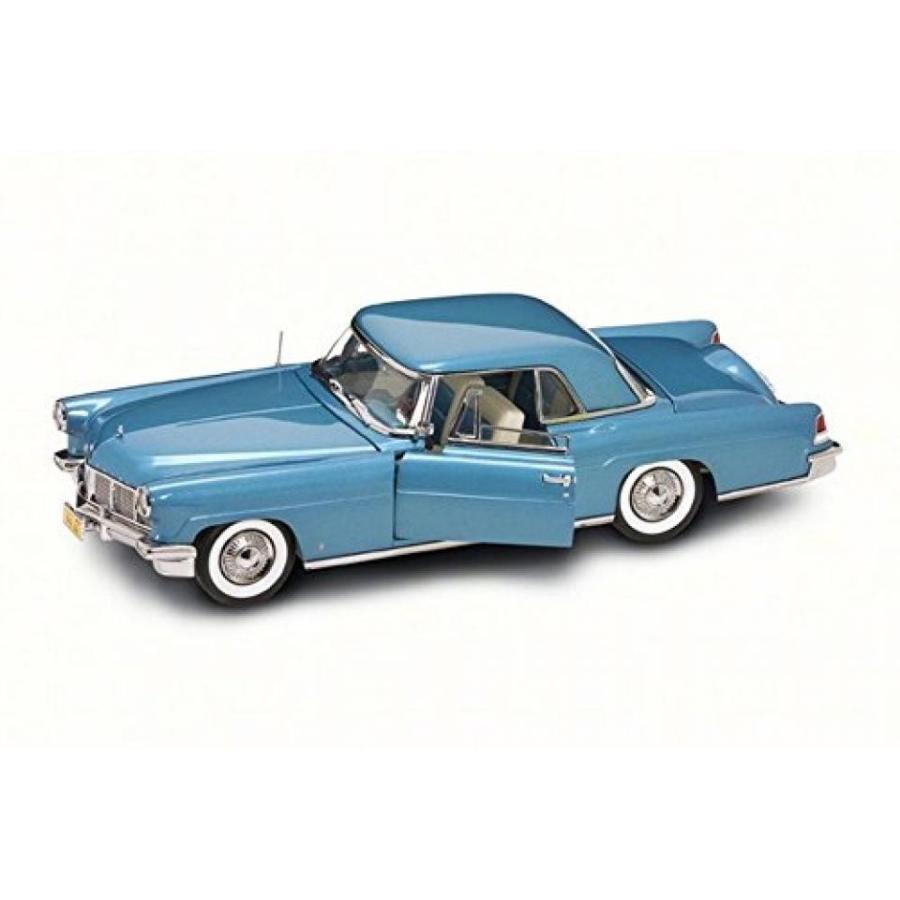 【送料無料】ミニカー 1956 Lincoln Continental Mark II, 青 - Road Signature 20078BU - 1/18 Scale Diecast Model Toy Car 輸入品