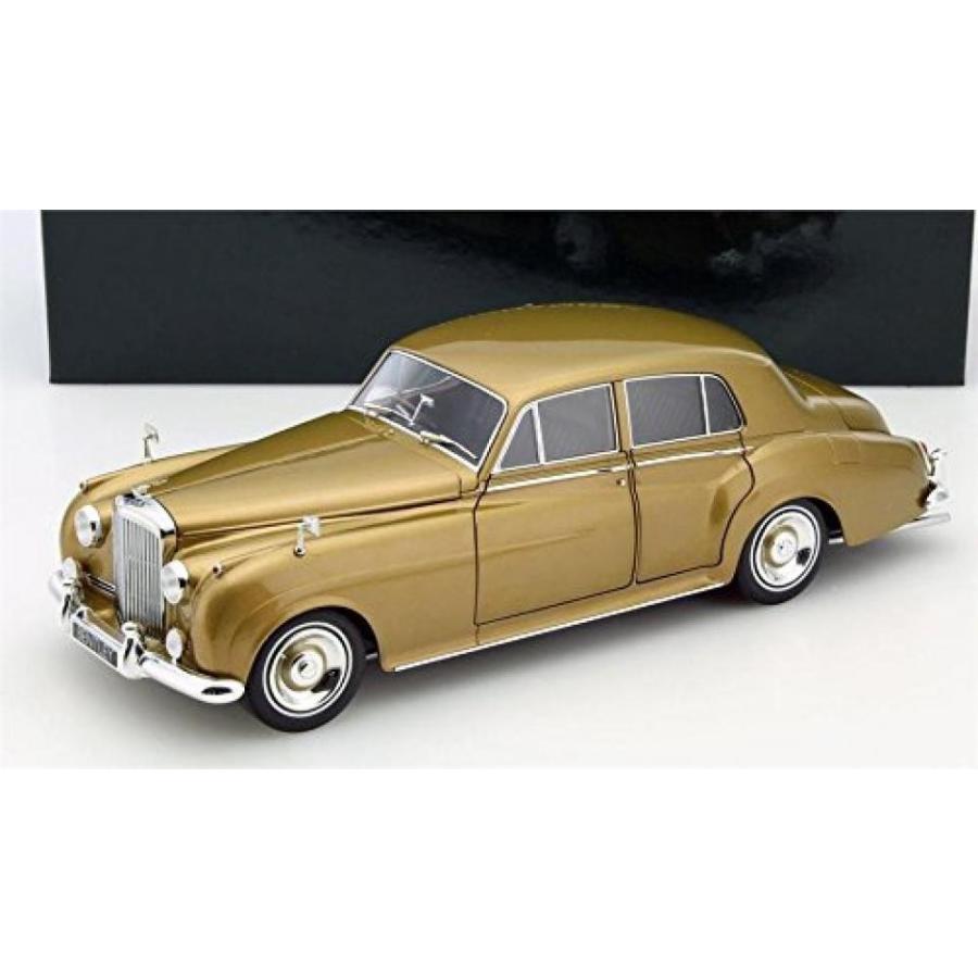 ベントレー ミニカー 1954 Bentley S2 in ゴールド Diecast Model in 1:18 Scale by Minichamps 輸入品