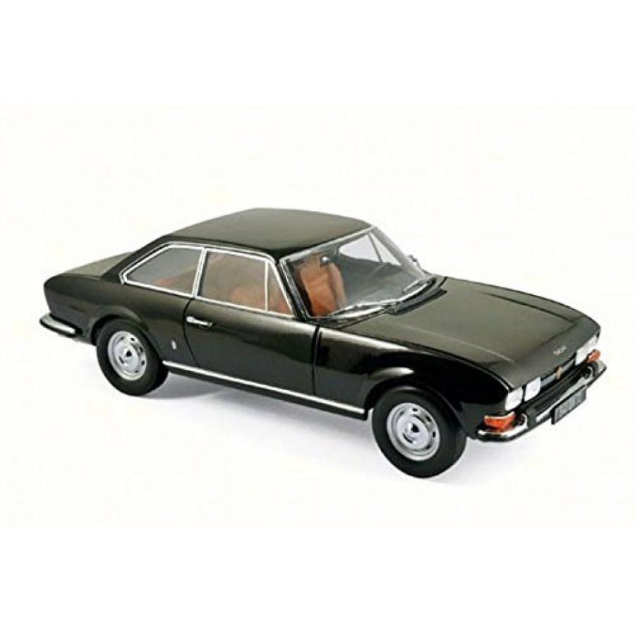 【送料無料】ミニカー 1973 Peugeot 504 Coupe, 褐色 Metallic - Norev 184822 - 1/18 Scale Diecast Model Toy Car 輸入品