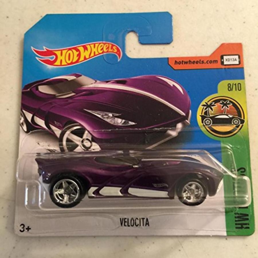 【送料無料】ミニカー 2017 Hot Wheels Super Treasure Hunt Velocita 紫の [(Short) International Card] VHTF 輸入品