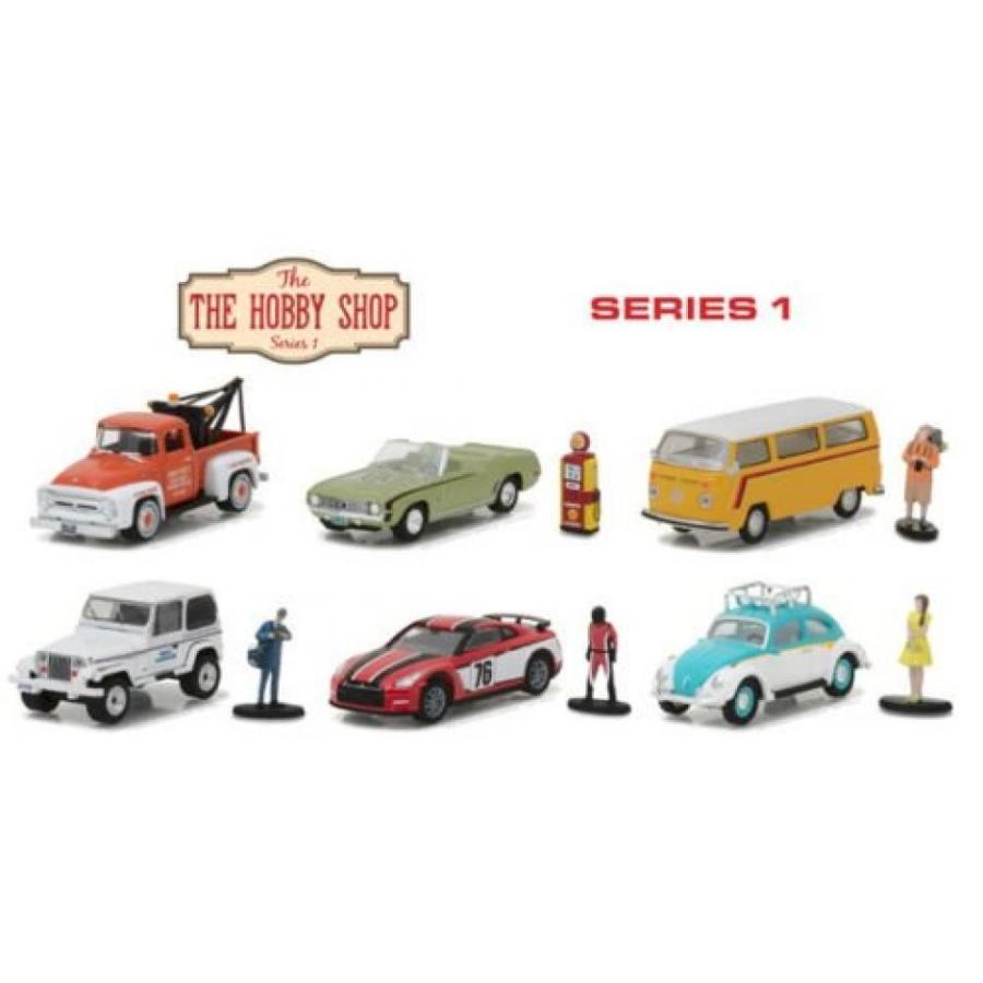 フォルクスワーゲン ミニカー New 1:64 緑light Hobby Shop Series Collection - THE HOBBY SHOP - SERIES 1 ASSORTMENT Diecast Model Car By 緑light