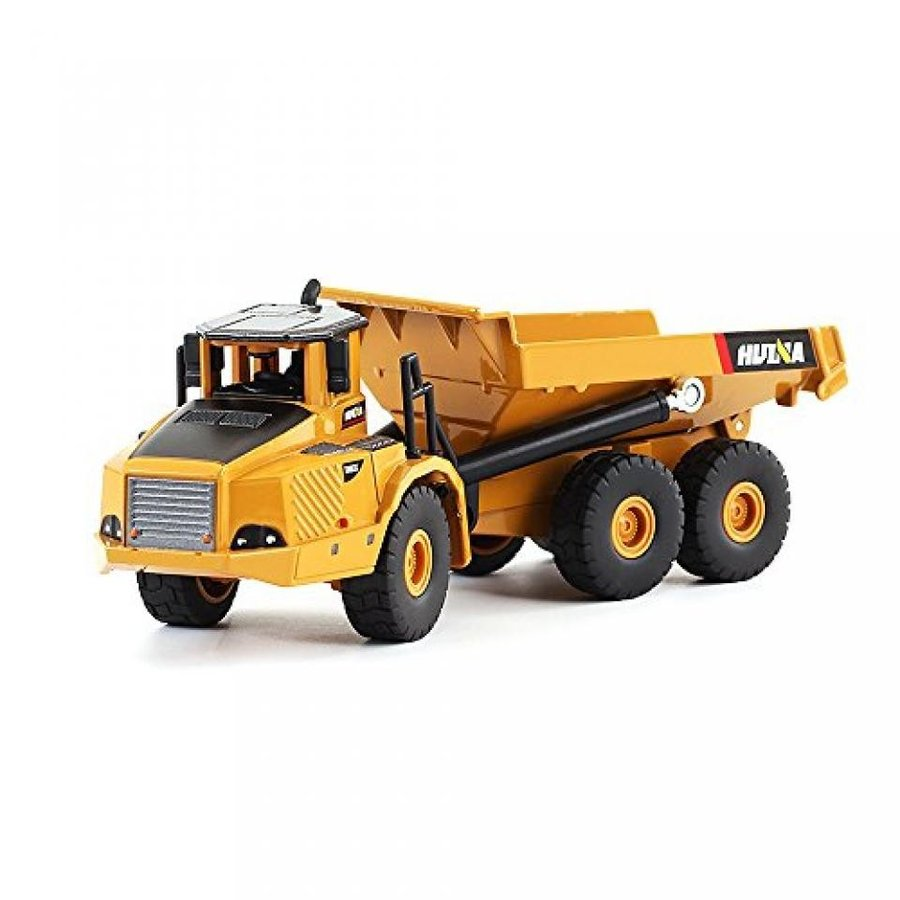 【送料無料】ミニカー 1/50 Scale Diecast Articulated Dump Truck Engineering Vehicle Construction Models Toys for Kids 輸入品
