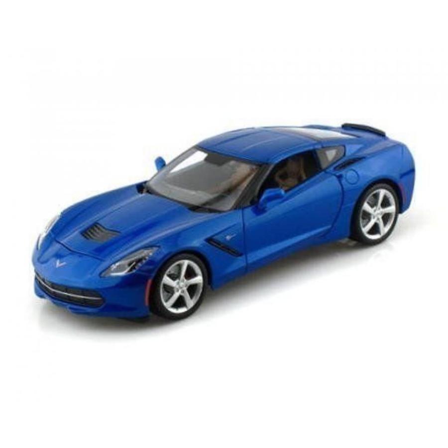 【送料無料】ミニカー Maisto 2014 1:24 Scale Chevy Corvette Stingray 7.5