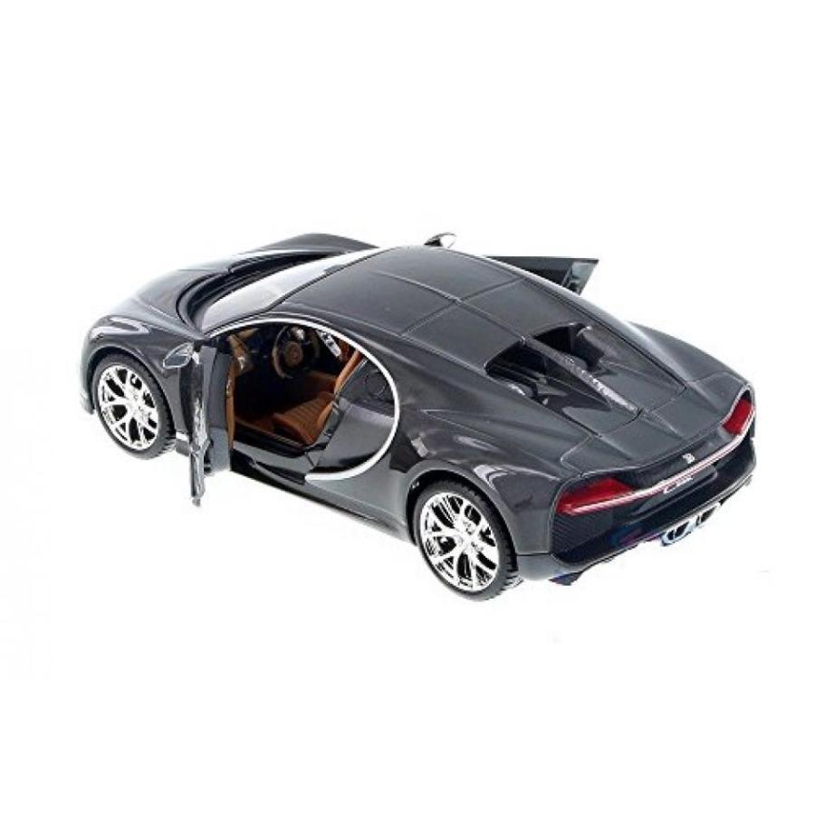 【送料無料】ミニカー Maisto Bugatti Chiron 1:24 Diecast Model Toy Car 34514 黒 New without Box 輸入品