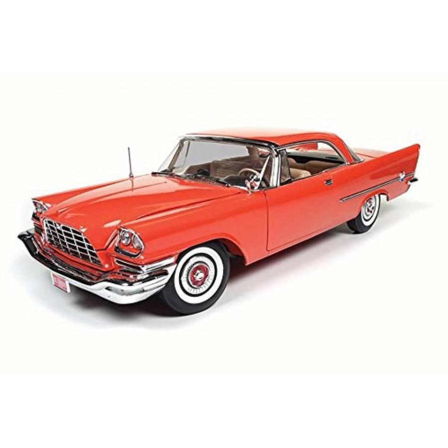 【送料無料】ミニカー 1957 Chrysler 300C 60th Anniversary, 赤 - Auto World AMM1110 - 1/18 Scale Diecast Model Toy Car 輸入品