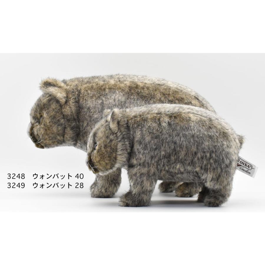 HANSA ハンサ ウォンバット 3248 リアル 動物 ぬいぐるみ プレゼント ギフト 母の日 父の日 dearbear 09