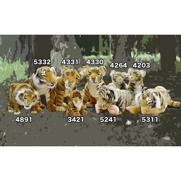 HANSA ハンサ トラ 4891 ギフト対象外 リアル 動物 ぬいぐるみ プレゼント ギフト 母の日 父の日|dearbear|09