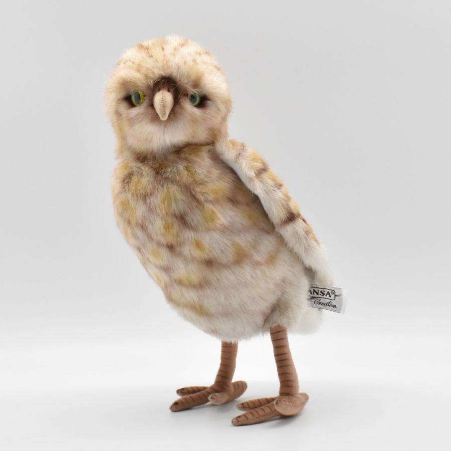HANSA ハンサ アナフクロウ 鳥 5203 リアル 動物 ぬいぐるみ プレゼント ギフト 母の日 父の日|dearbear