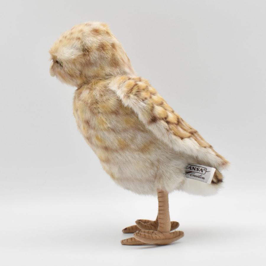 HANSA ハンサ アナフクロウ 鳥 5203 リアル 動物 ぬいぐるみ プレゼント ギフト 母の日 父の日|dearbear|02