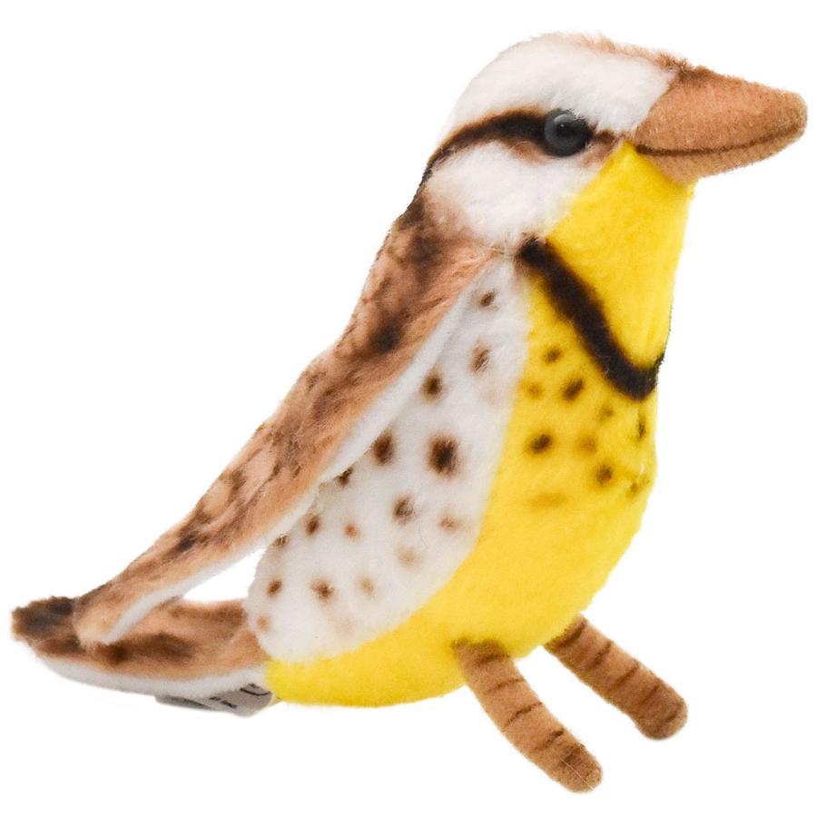 HANSA ハンサ キヅタアメリカムシクイ 鳥 5521 リアル 動物 ぬいぐるみ プレゼント ギフト 母の日 父の日 dearbear
