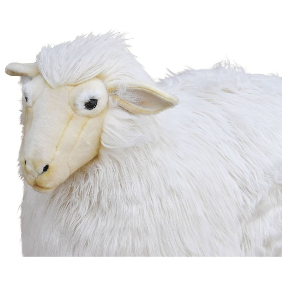 HANSA ハンサ ヒツジ 5845 ギフト対象外 リアル 動物 ぬいぐるみ プレゼント ギフト 母の日 父の日|dearbear|04