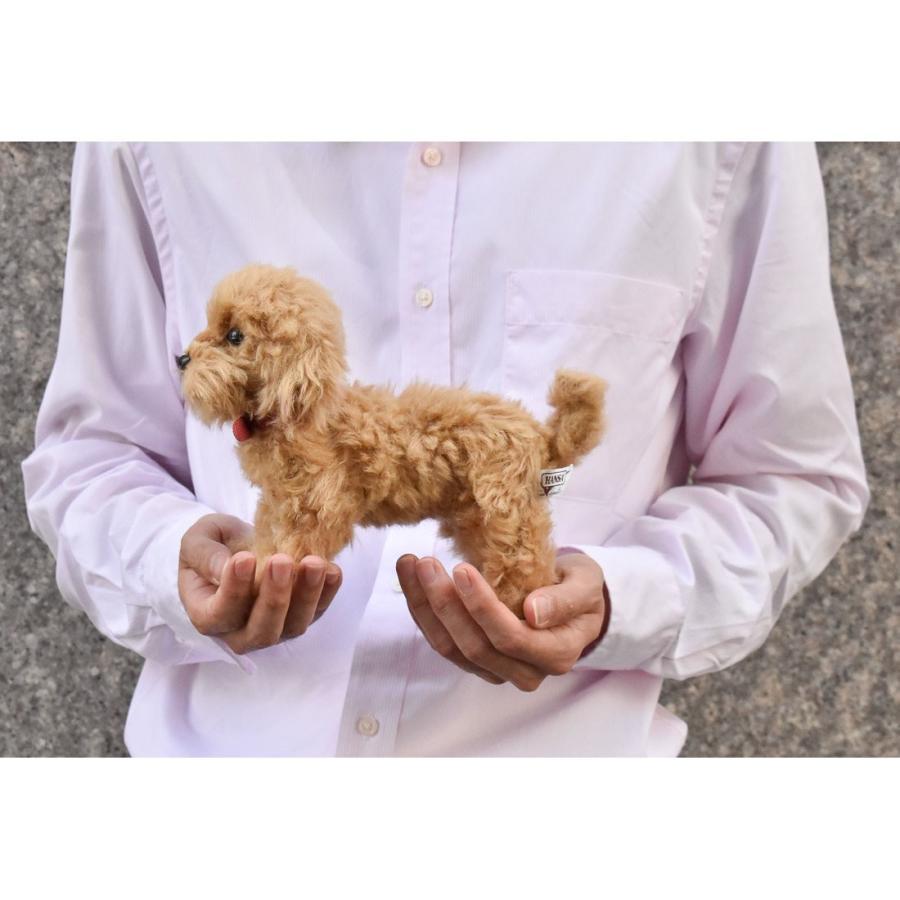 HANSA ハンサ トイプードル 犬 6153 リアル 動物 ぬいぐるみ プレゼント ギフト 母の日 父の日|dearbear|10