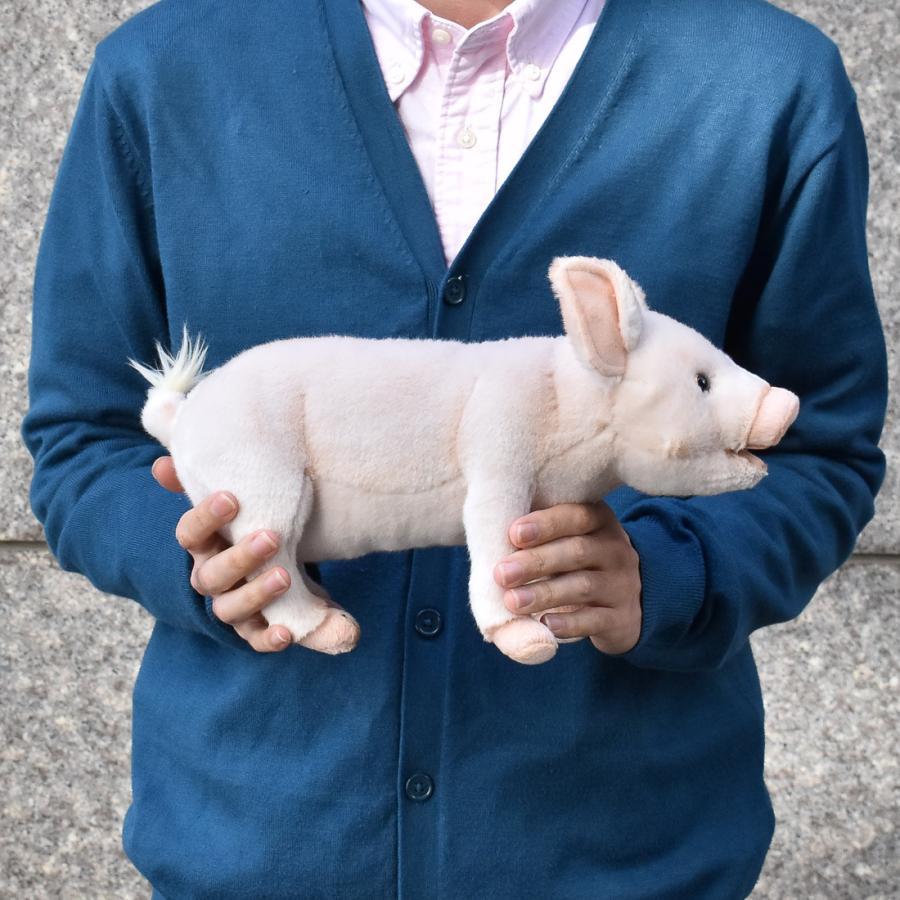 HANSA ハンサ ブタ 子 6290 リアル 動物 ぬいぐるみ プレゼント ギフト 母の日 父の日|dearbear|08