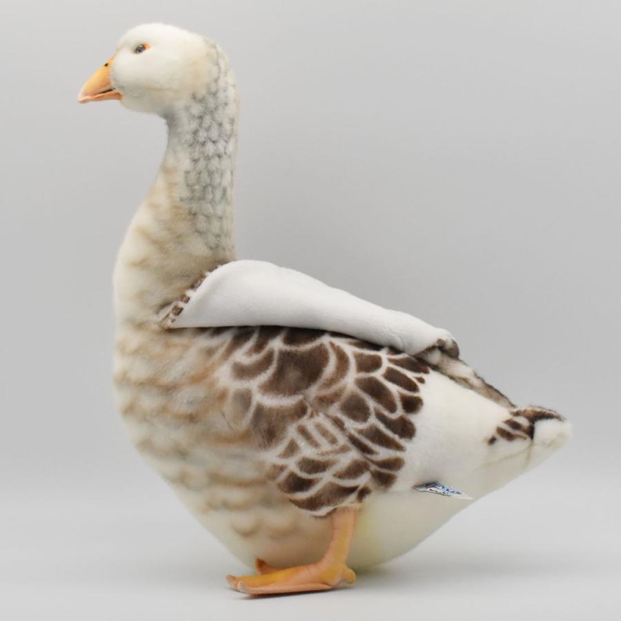 HANSA ハンサ ガチョウ 鳥 6329 ギフト対象外 リアル 動物 ぬいぐるみ プレゼント ギフト 母の日 父の日 dearbear 07